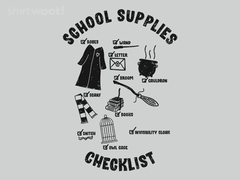 Woot!: School Supplies