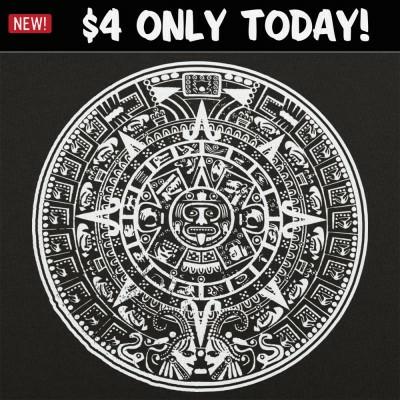 6 Dollar Shirts: Aztec Calendar