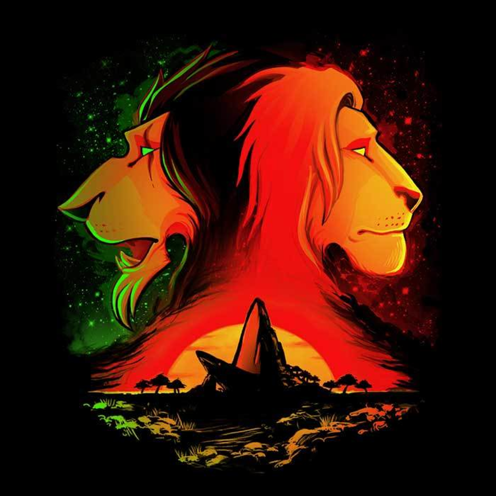 Once Upon a Tee: The Pride Rock