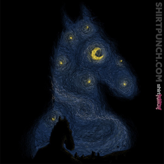 ShirtPunch: Hollywoo Starry Night