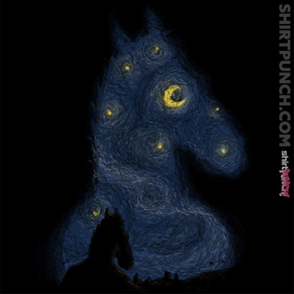 ShirtPunch: Hollywoo Starry Night