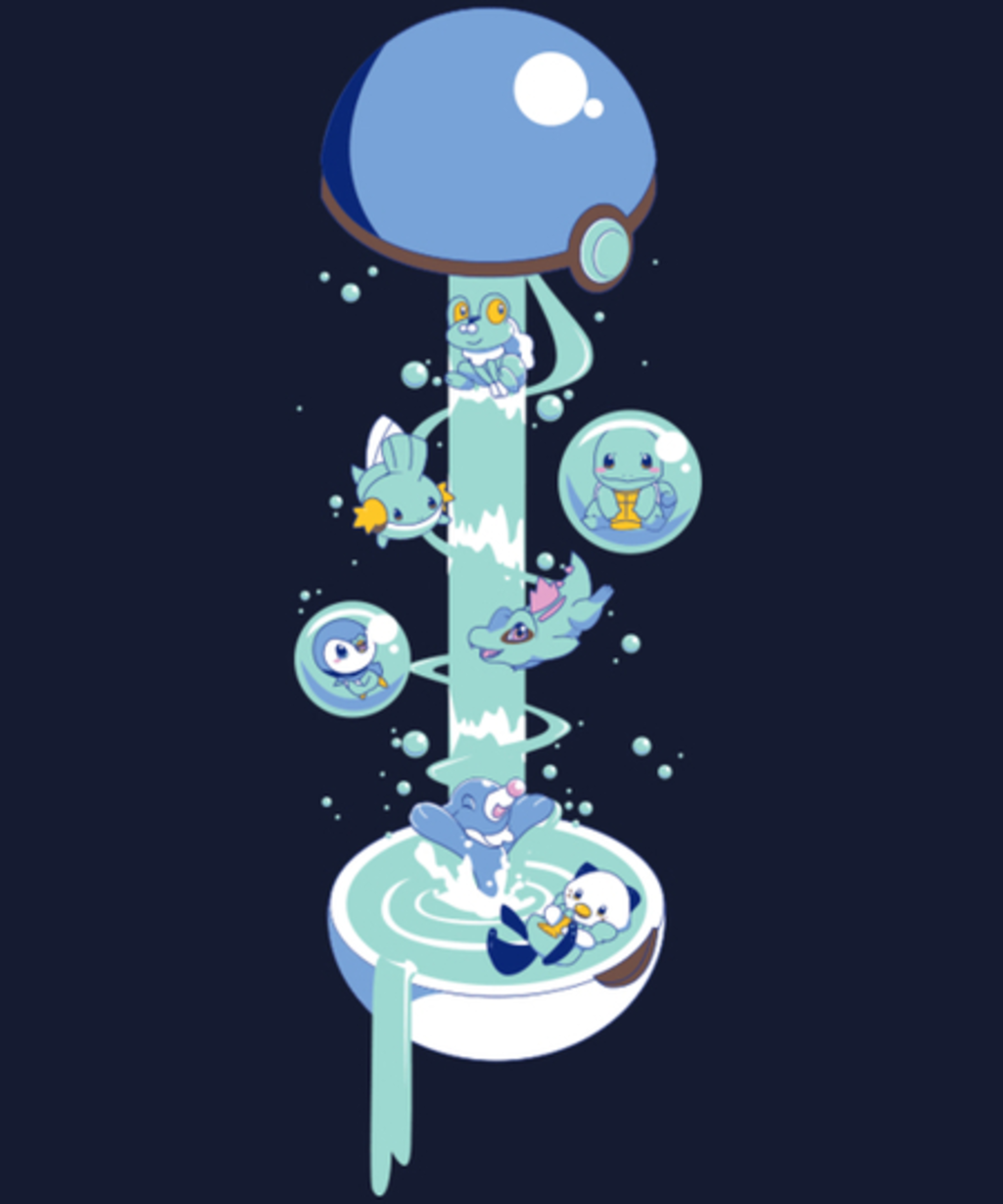 Qwertee: Waterball