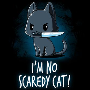 TeeTurtle: Scaredy Cat