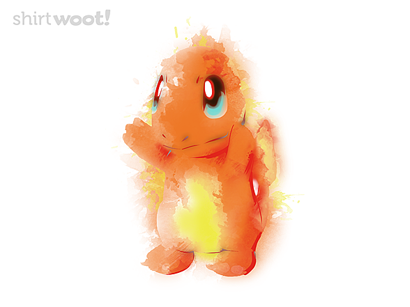 Woot!: Fire Watercolor
