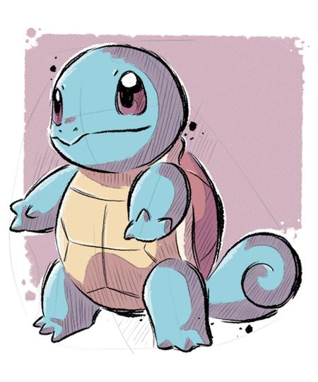Qwertee: Water Turtle