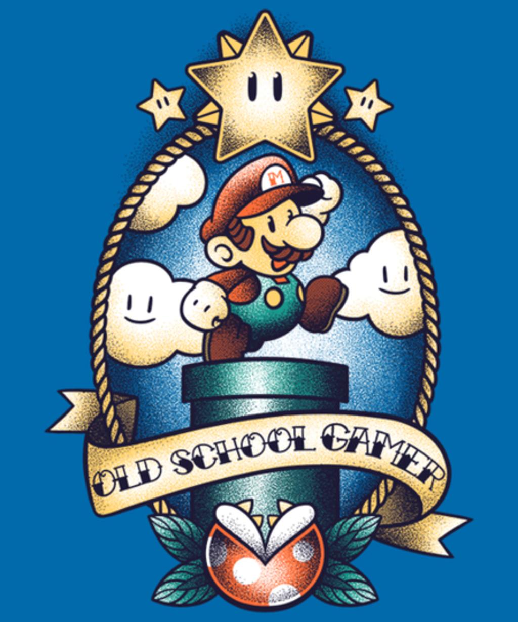 Qwertee: Super old school gamer