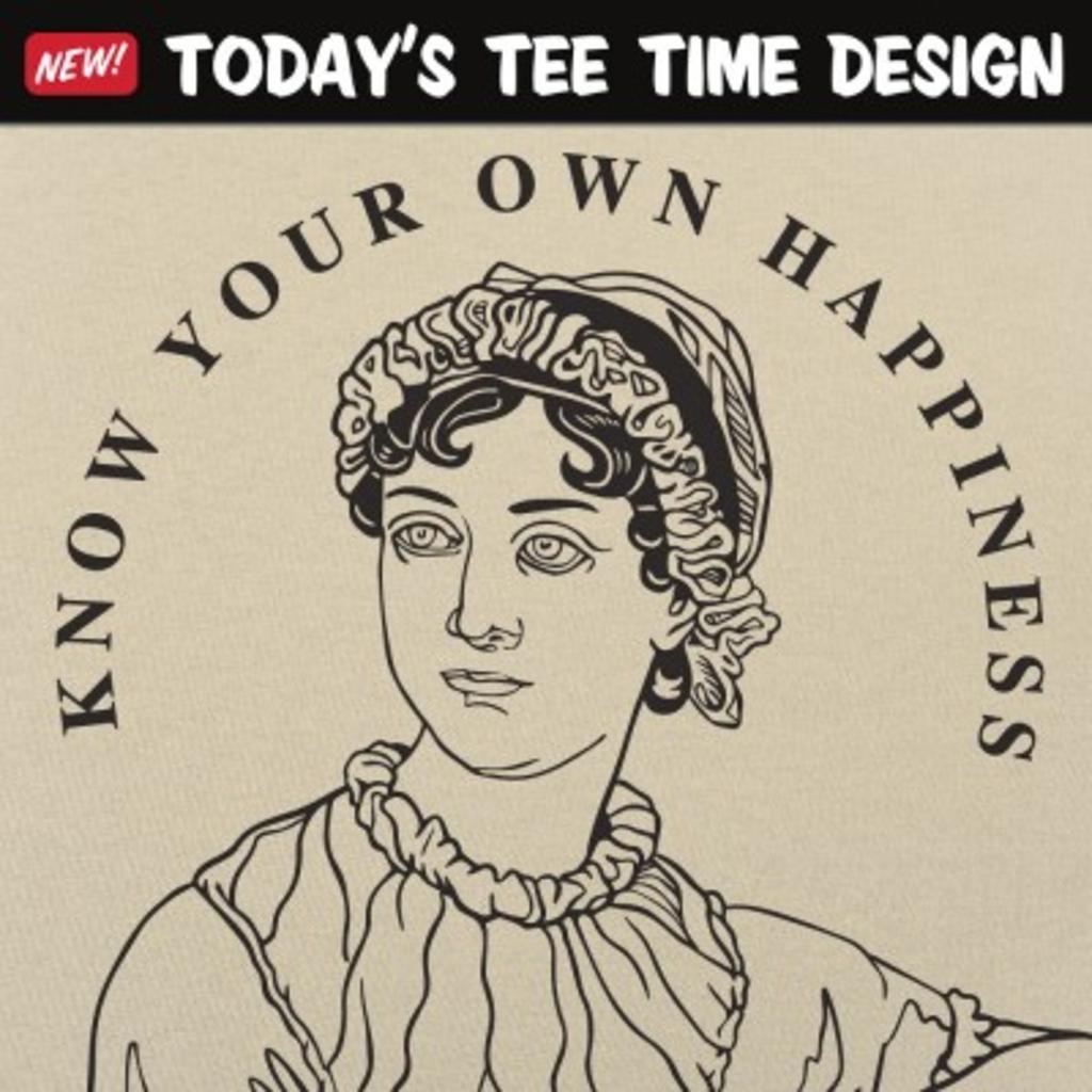 6 Dollar Shirts: Austen Quote