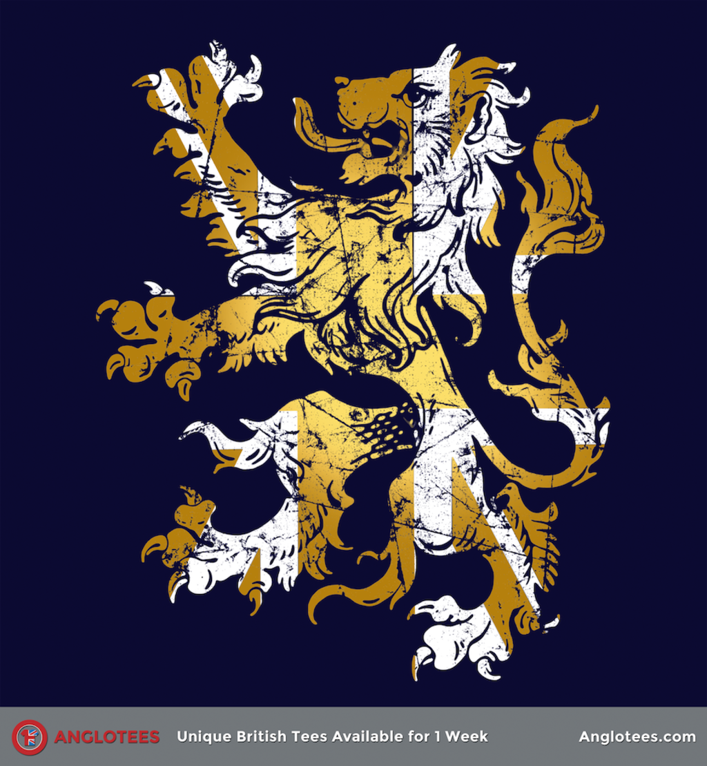 Anglotees: Golden Lion by Malcolm Watson