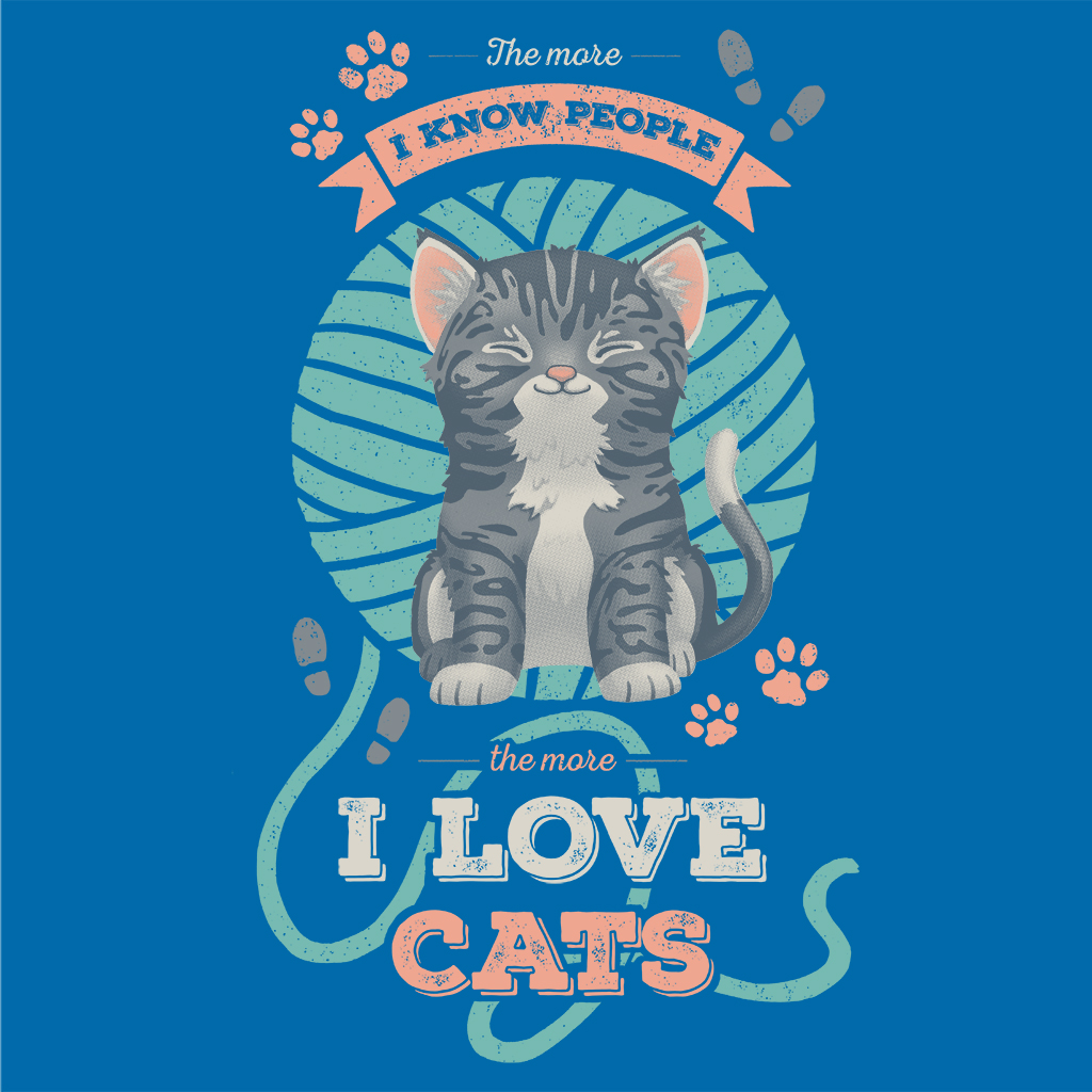 TeeTee: I Love Cats!