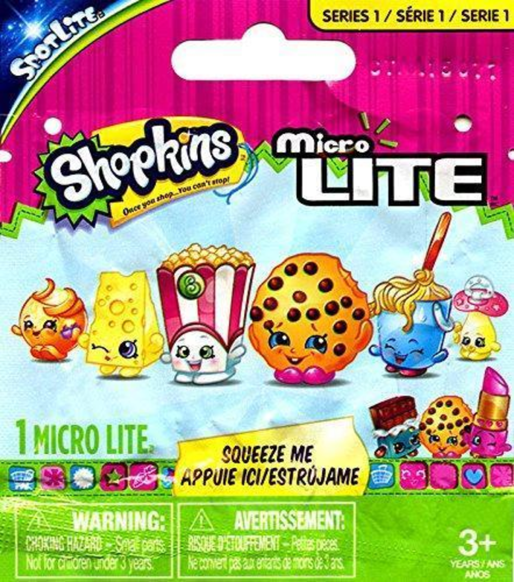 Pop Vulture: Shopkins Micro Lite Series 1