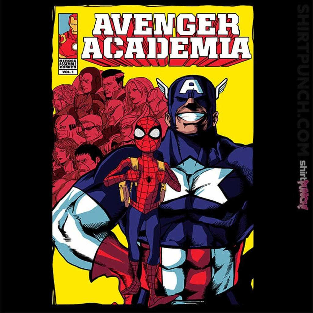 ShirtPunch: Avenger Academia