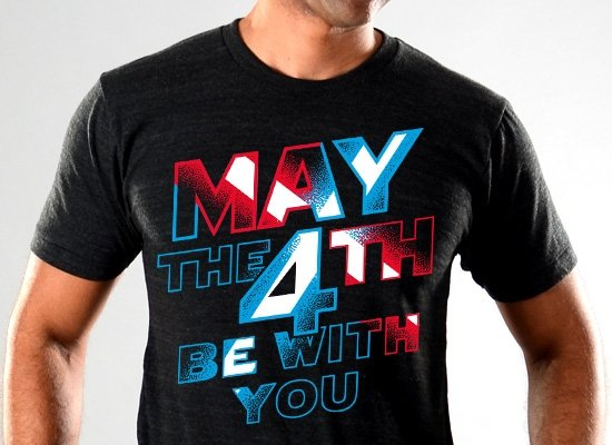 SnorgTees: May The 4th Be With You Limited Edition Tri-Blend