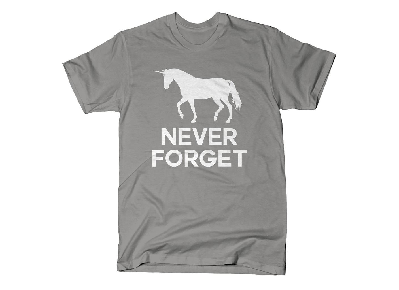 SnorgTees: Unicorn Never Forget