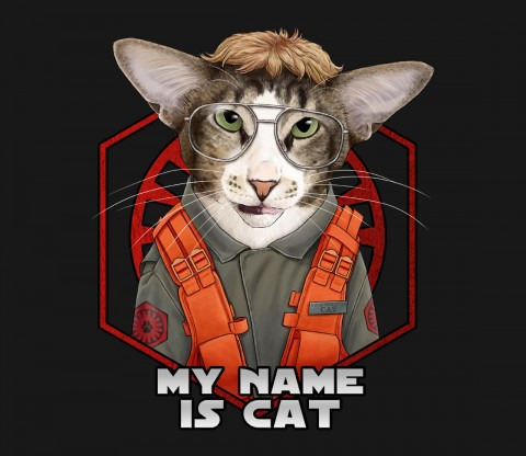 TeeFury: My Name is Cat!