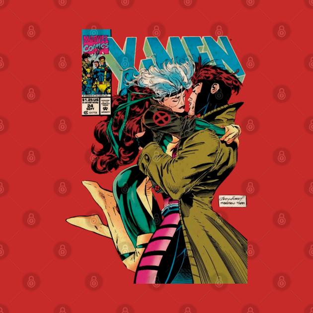 TeePublic: Gambit and Rogue
