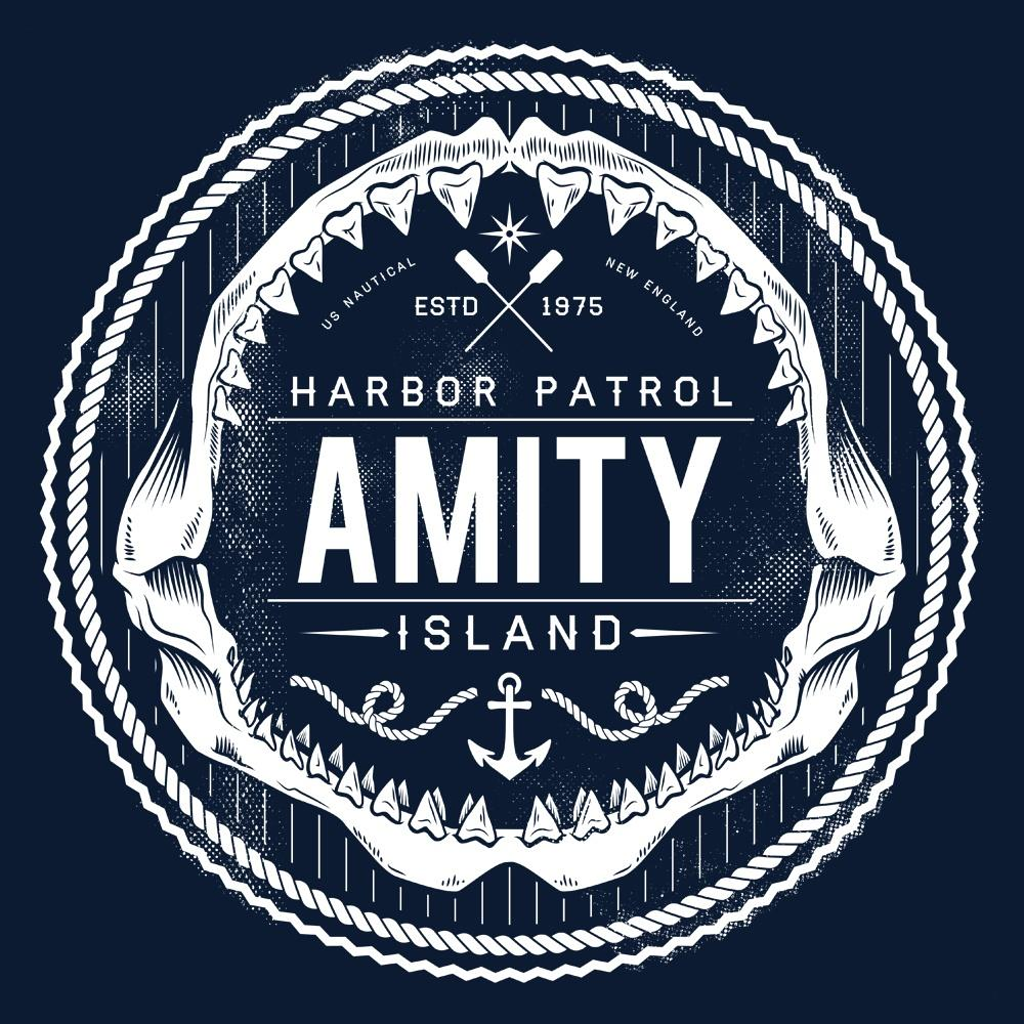 Once Upon a Tee: Amity Island Harbor Patrol