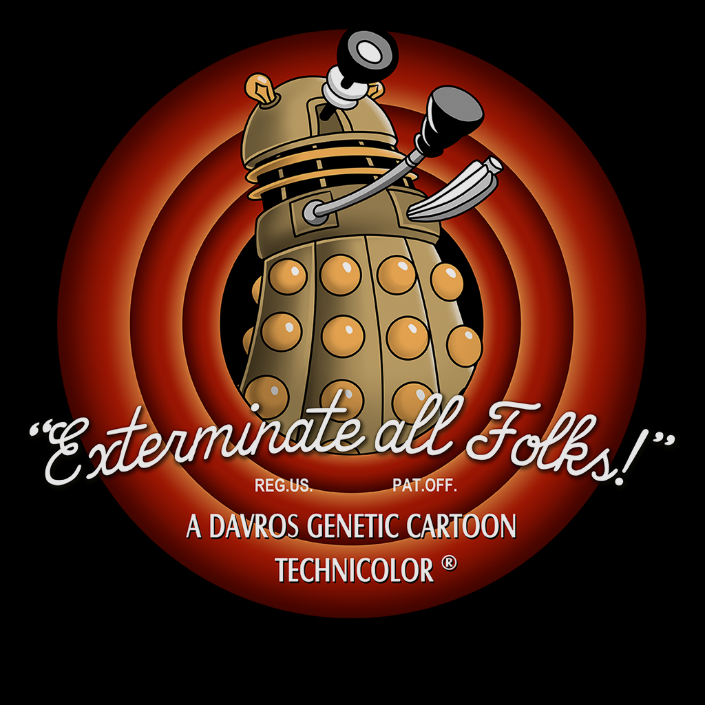 Pop-Up Tee: Exterminate All Folks