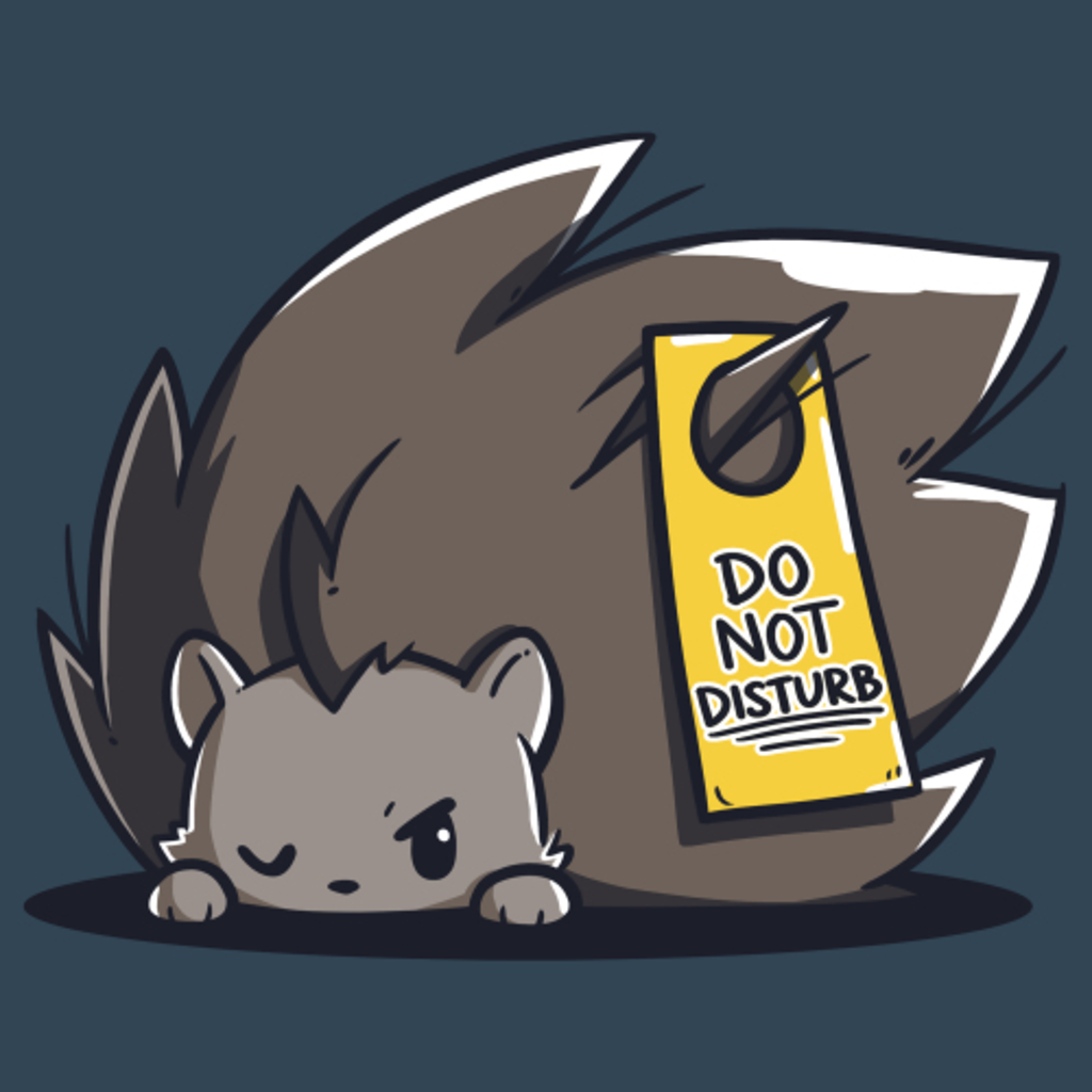TeeTurtle: Do Not Disturb (Hedgehog)