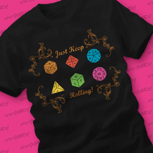 ShirtPunch: Just Keep Rolling
