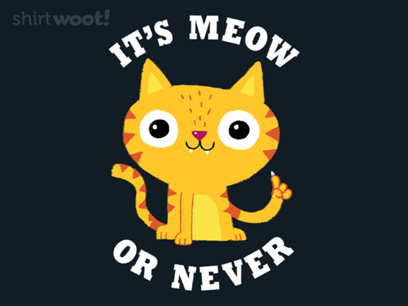 Woot!: Meow Or Never