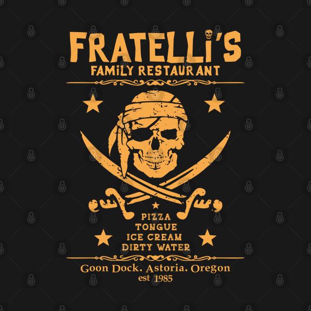 TeePublic: Fratelli's Family Restaurant