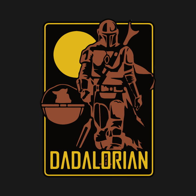 TeePublic: dadalorian