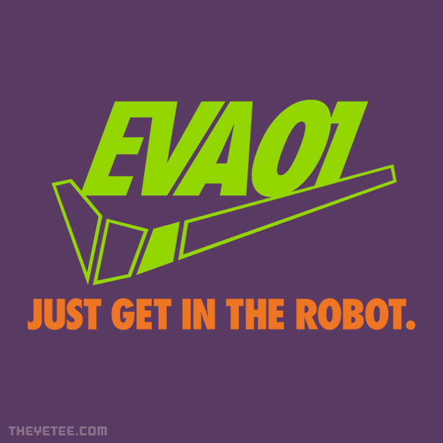 The Yetee: Just Get in the Robot