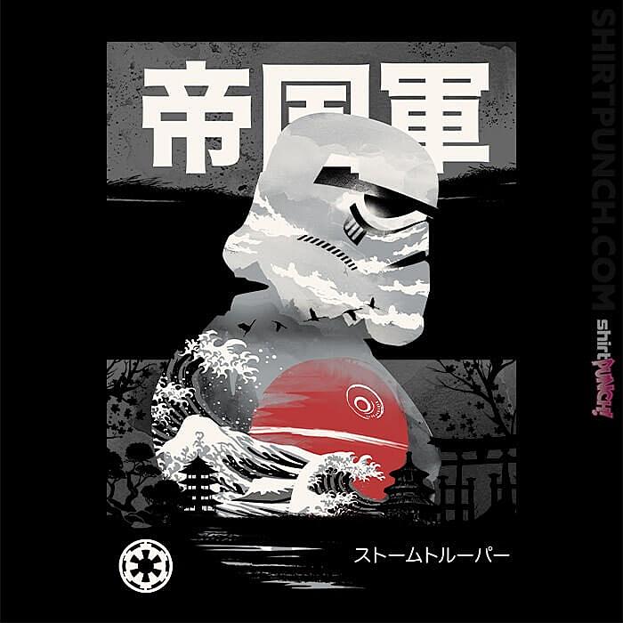 ShirtPunch: Edo Stormtrooper
