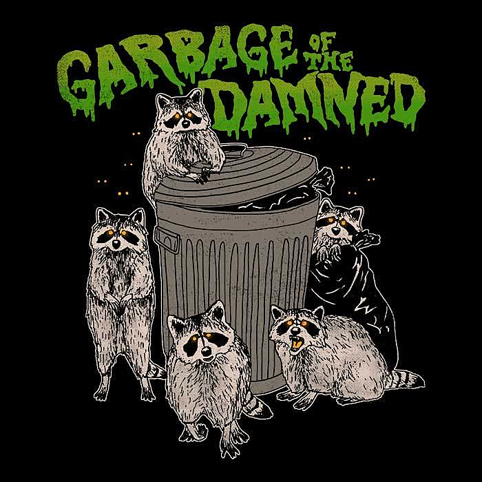 Once Upon a Tee: Garbage of the Damned - Women's Apparel