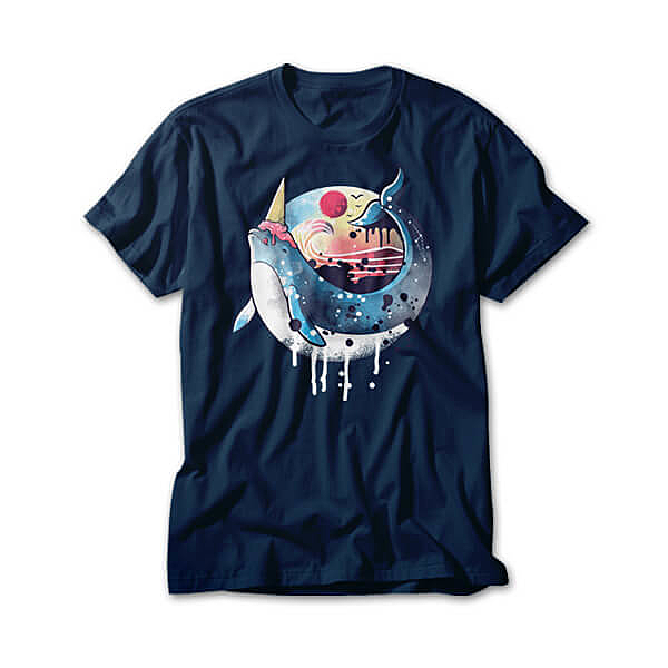 OtherTees: Ice cream narwhal