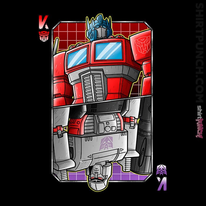 ShirtPunch: King Autobot