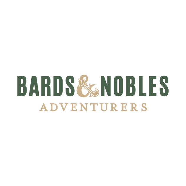 TeePublic: Bards & Nobles T-Shirt