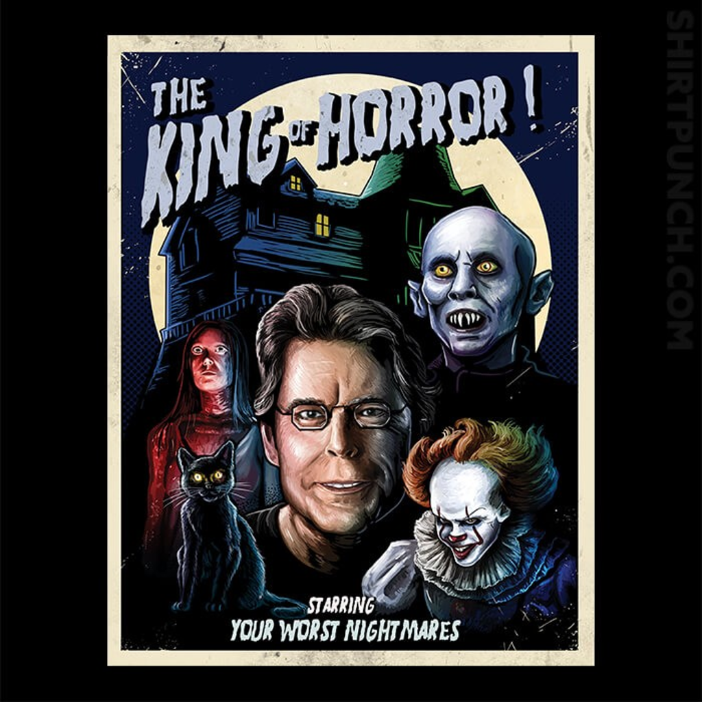 ShirtPunch: The King Of Horror