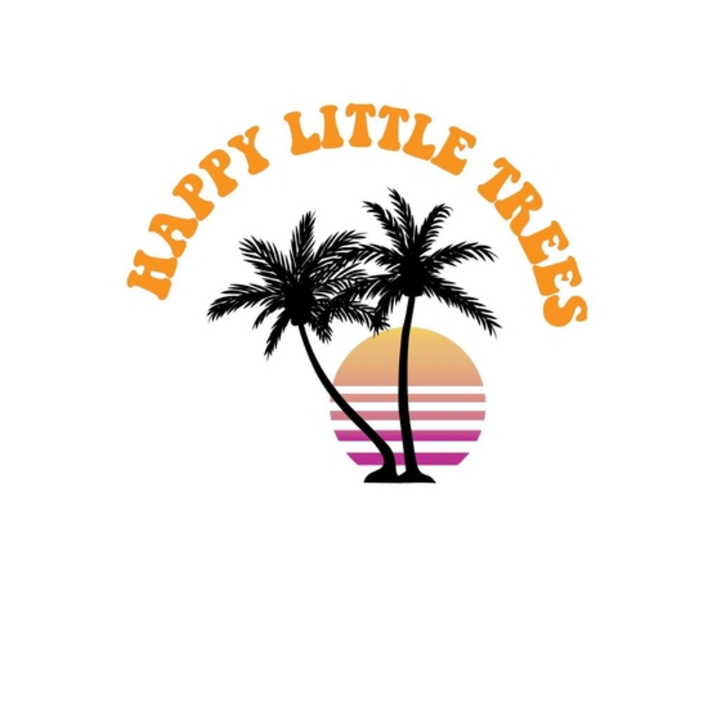 BustedTees: Happy Little Trees