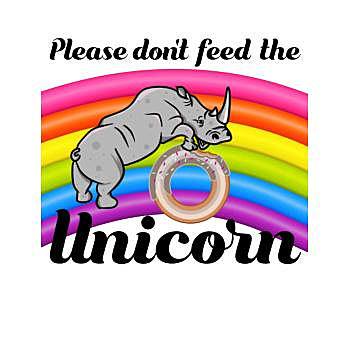 BustedTees: Please don't feed the Unicorn