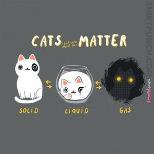 ShirtPunch: Cats Matter