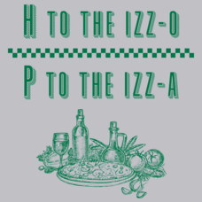 Textual Tees: P To The Izza