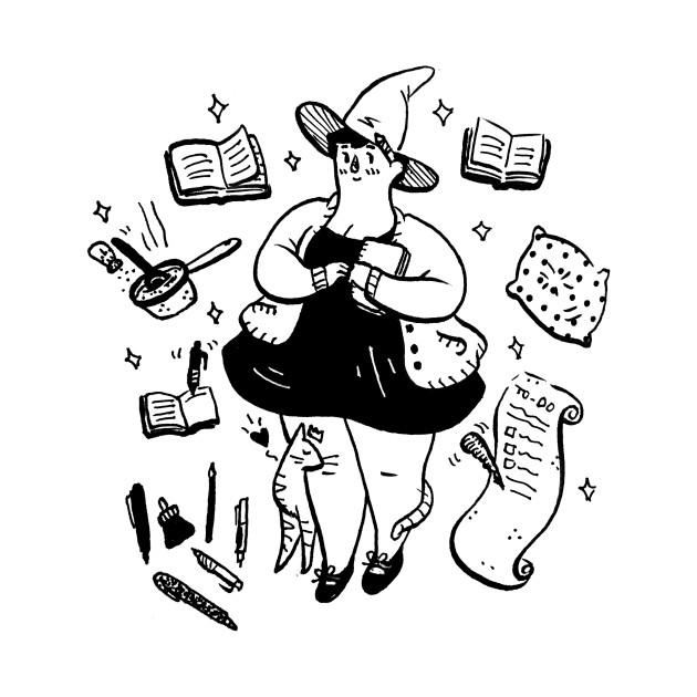 TeePublic: Cozy Witch