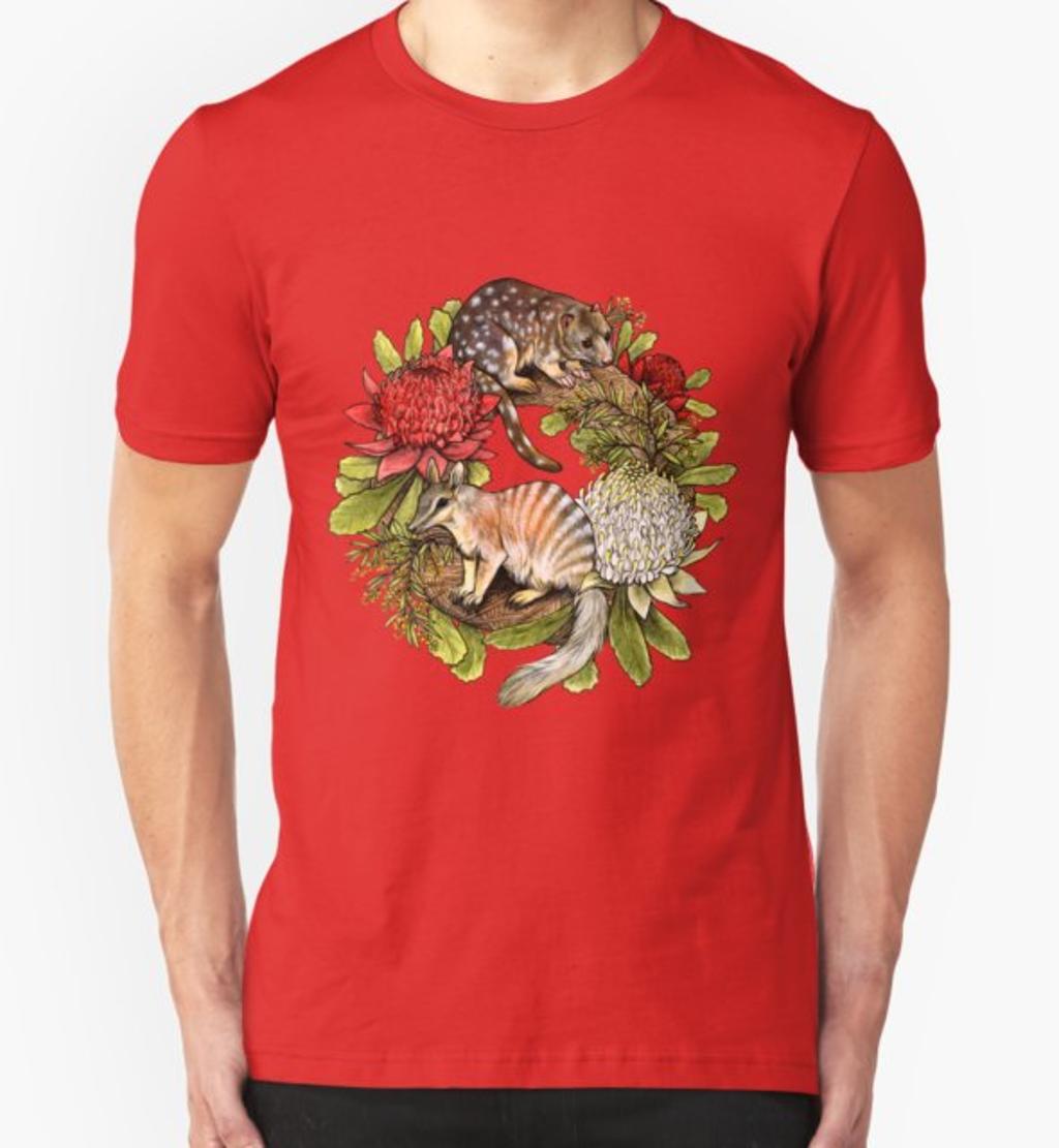 RedBubble: Australian Christmas Wreath