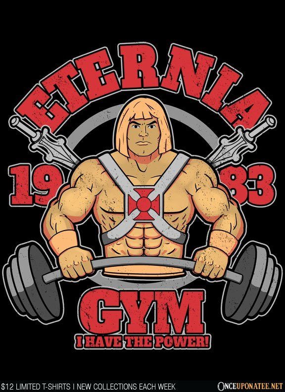 Once Upon a Tee: Eternia Gym