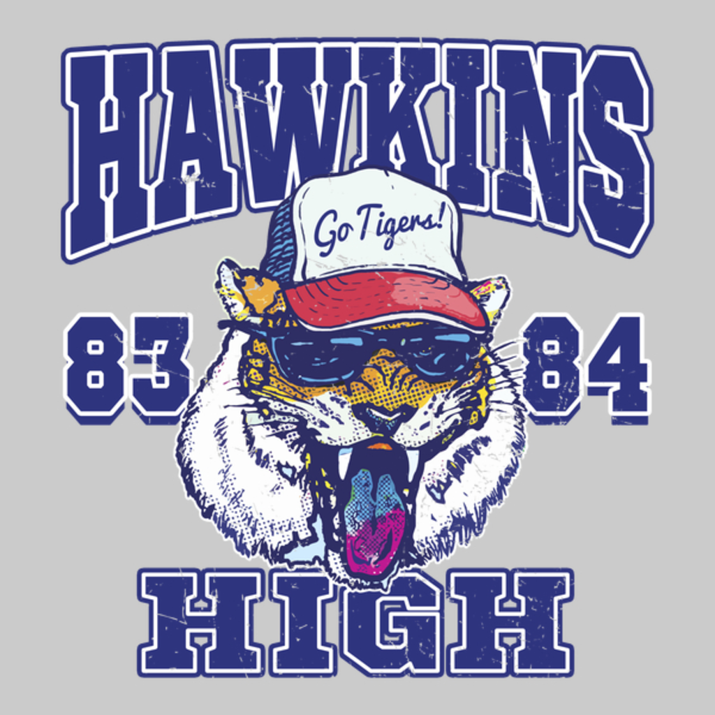 NeatoShop: 1983 84 Hawkins High School Tigers