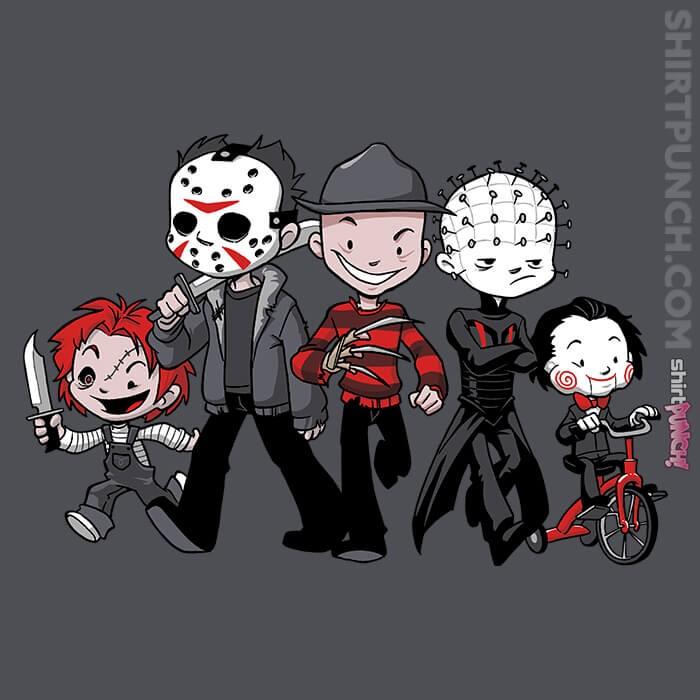 ShirtPunch: Horror BFFs