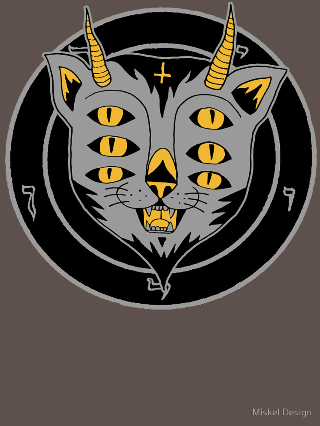 RedBubble: six eye cat