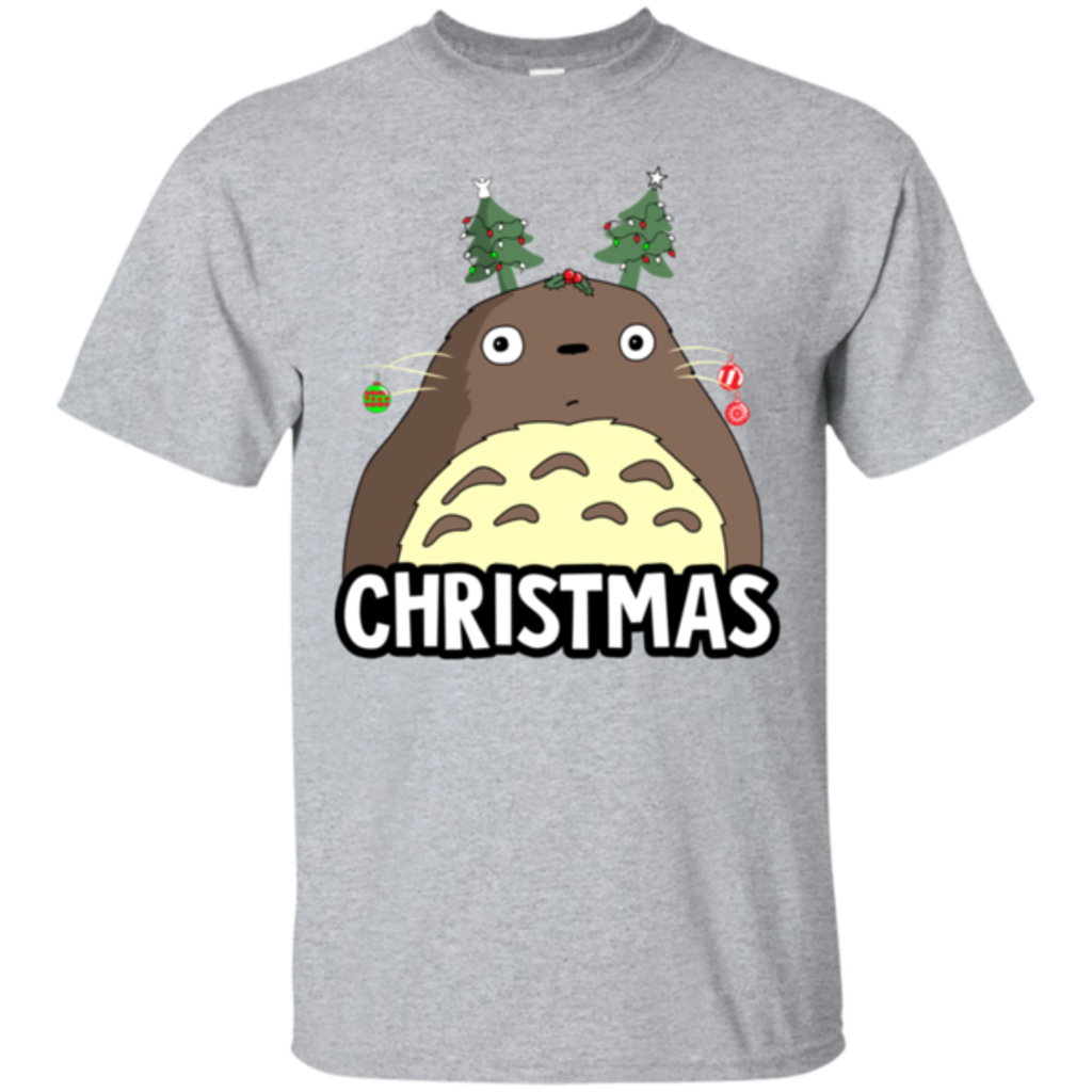 Pop-Up Tee: Christmas Time Totoro