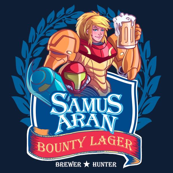 NeatoShop: The Better Zebes Beer T-Shirt