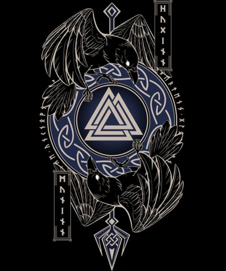 Qwertee: Odin's Ravens