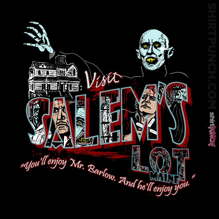 ShirtPunch: Visit Salem's Lot