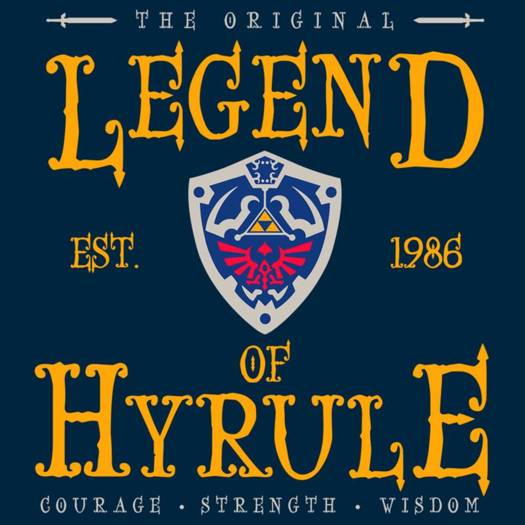 Curious Rebel: The Legend of Hyrule