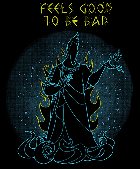 Qwertee: Feels Good to be Bad