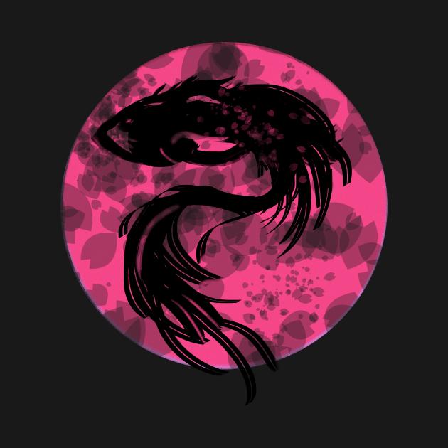 TeePublic: Sakura Fish